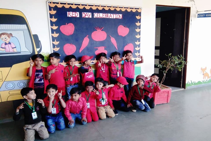 Meritorious Public School-Red Day