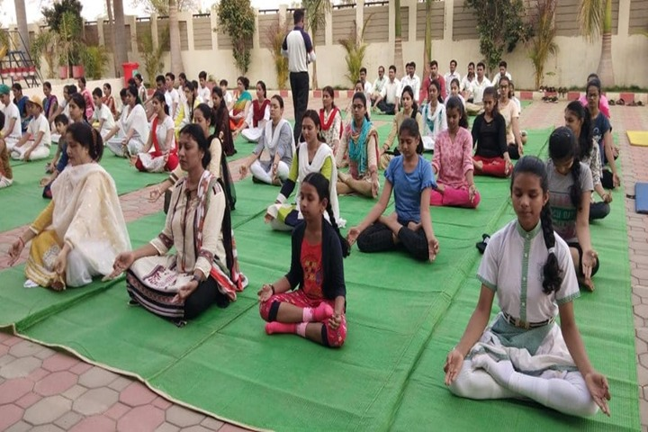 Meritorious Public School-Yoga Day