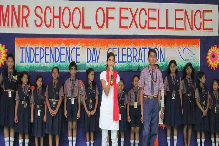 Mnr School Of Excellence-Independence Day