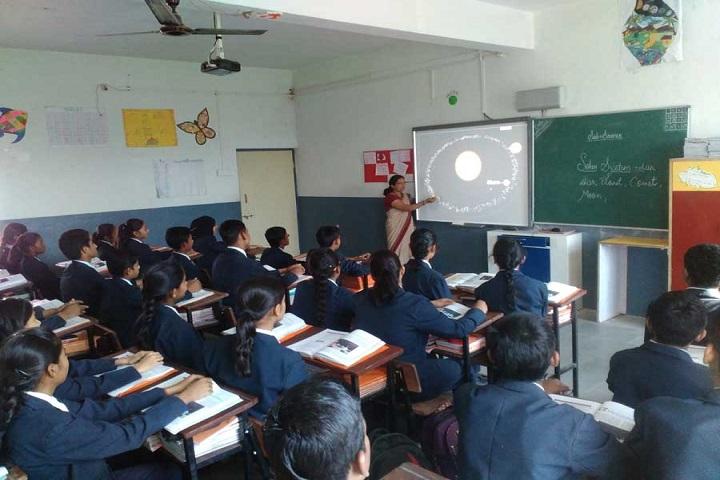 Modern International School-Classroom