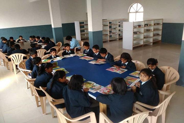 Modern International School-Library