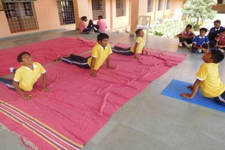 Mount Carmel Convent School-Yoga