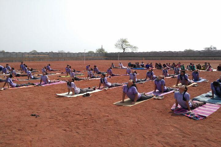 N.V. Chinmaya Vidyalaya-International Yoga Day Celebrations