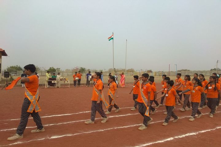 N.V. Chinmaya Vidyalaya-March Past