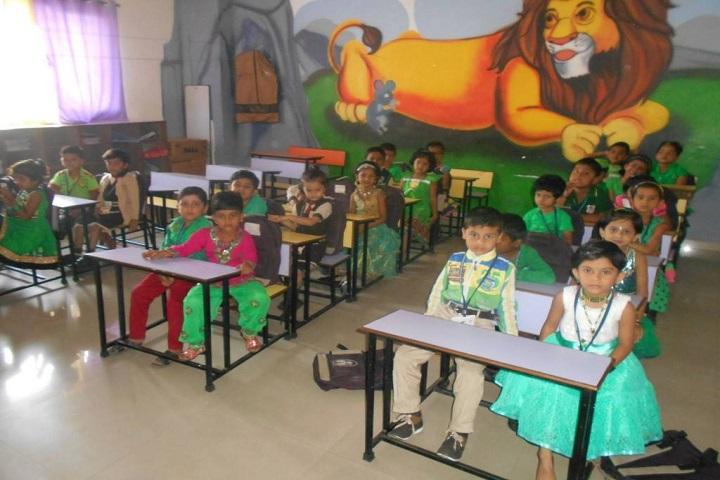 Nagesh Karajagi Orchid School- Kids Classroom