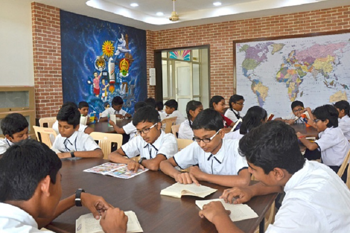 Nairs Essence International School-Library