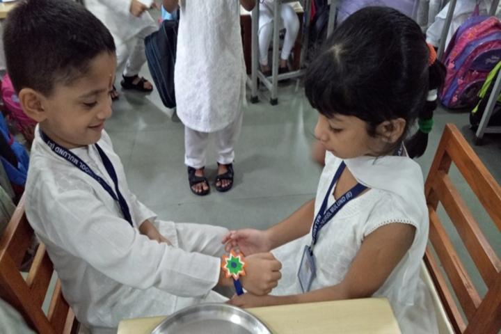 Nalanda Public School-Rakhi Celabrations