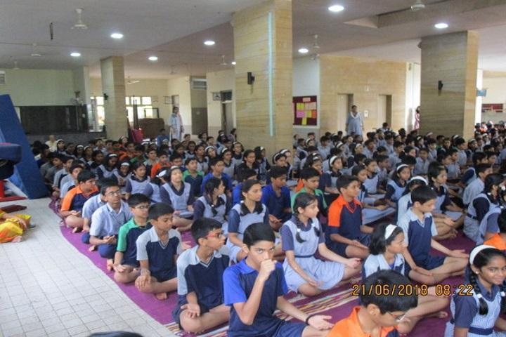 Nalanda Public School-Yoga Day