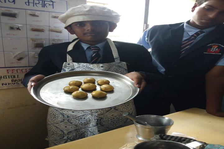 Nav Krishna Valley School-Cooking competitions