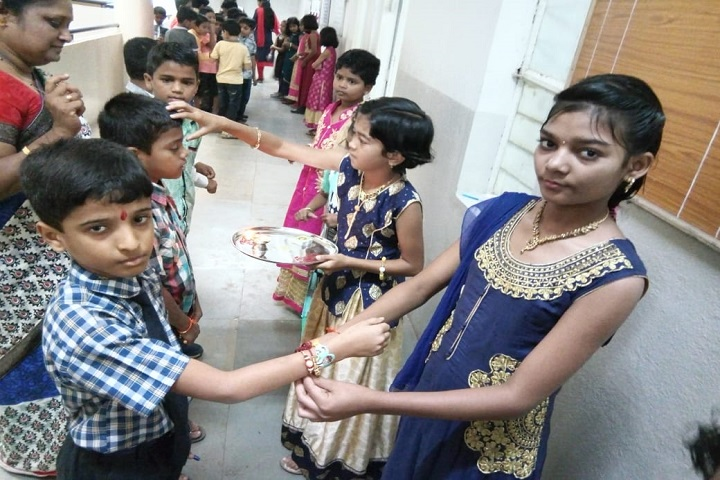 Nav Krishna Valley School-Rakhi Celebrations