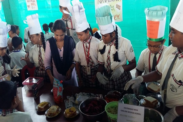 Navnirman High English Medium School-Cooking competitions