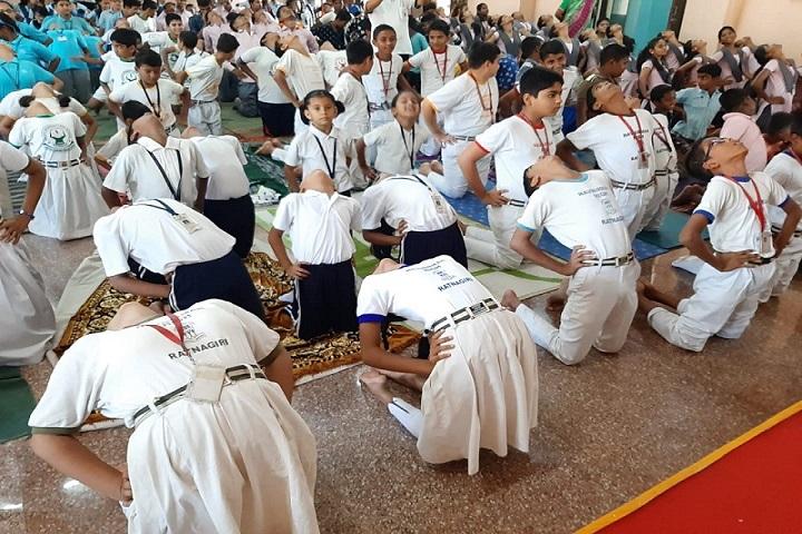 Navnirman High English Medium School-Yoga