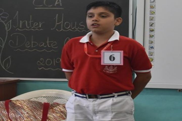 Navy Children School-Debate