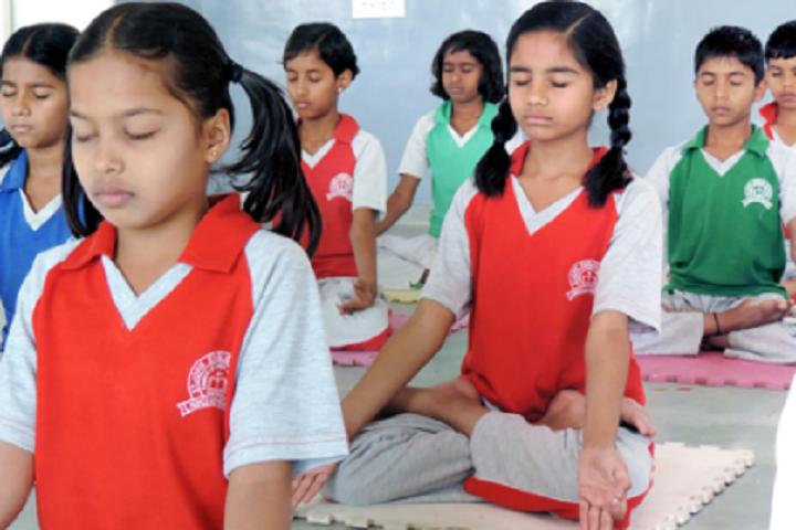 New Beginning International School-Yoga