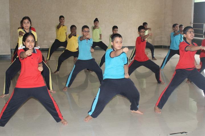 New Horizon Scholars School-Dance Room