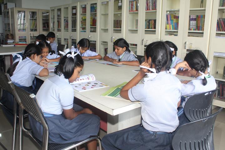 New Horizon Scholars School-Library
