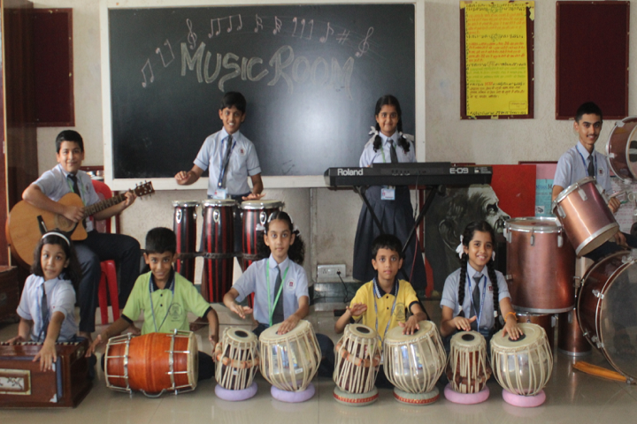 New Horizon Scholars School-Music Room