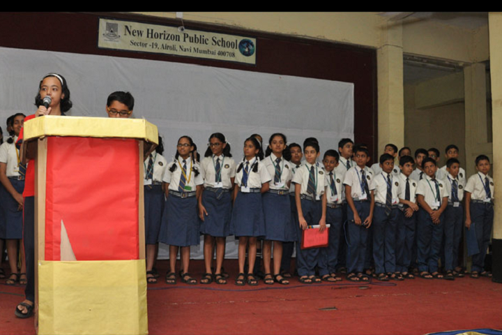 New Horizon Public School-Assembly