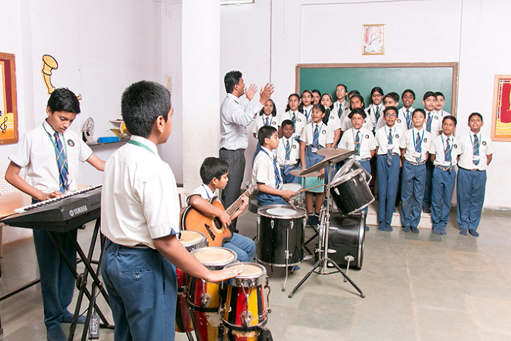 New Horizon Public School-Music Room