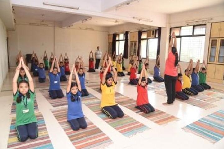 New Horizon Public School Khanda Colony-Yoga