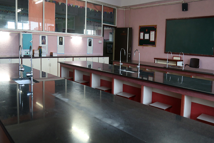 New Horizon Scholars School -Biology Lab