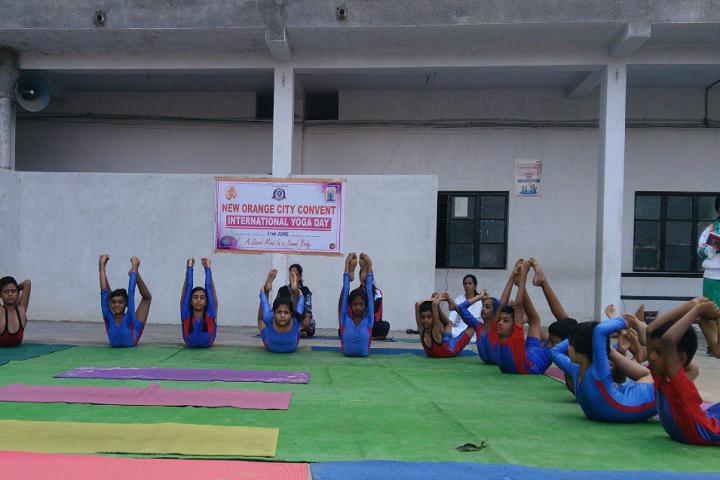 New Orange City Convent-International Yoga Day