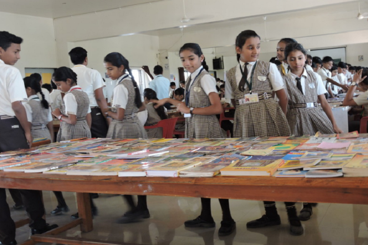 Nirmal International School-Books Exhibition