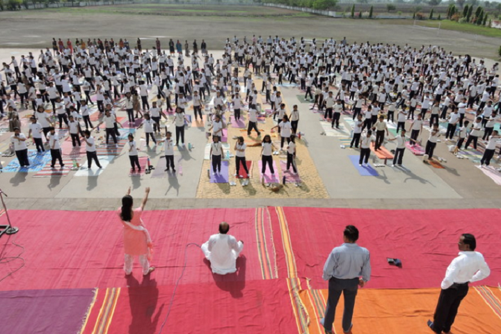 Nirmal International School-International Yoga Day