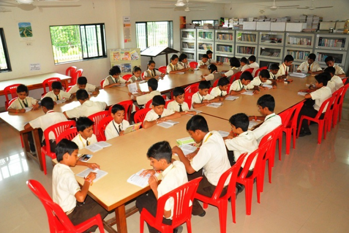 Nirmal International School-Library