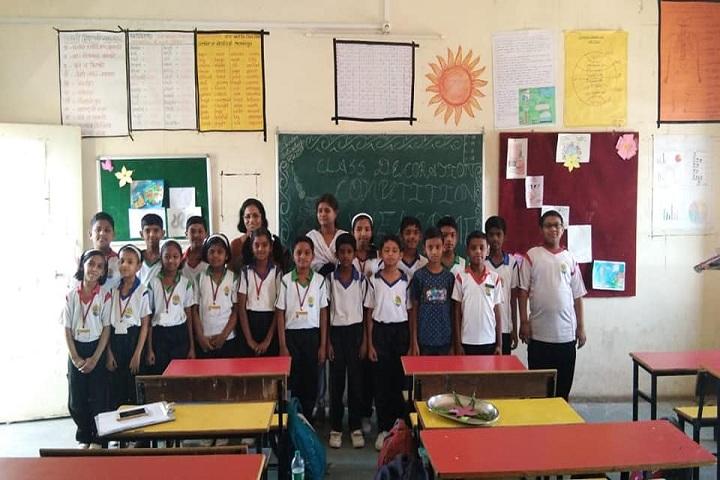 Oasis English Medium School-Classroom