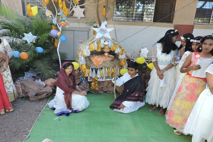 P R Pote Patil International School-Christmas Celebration