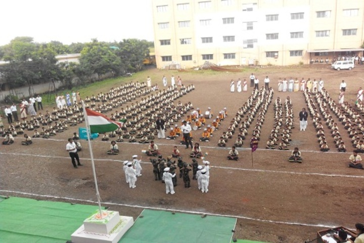 P R Pote Patil International School-Independence Day