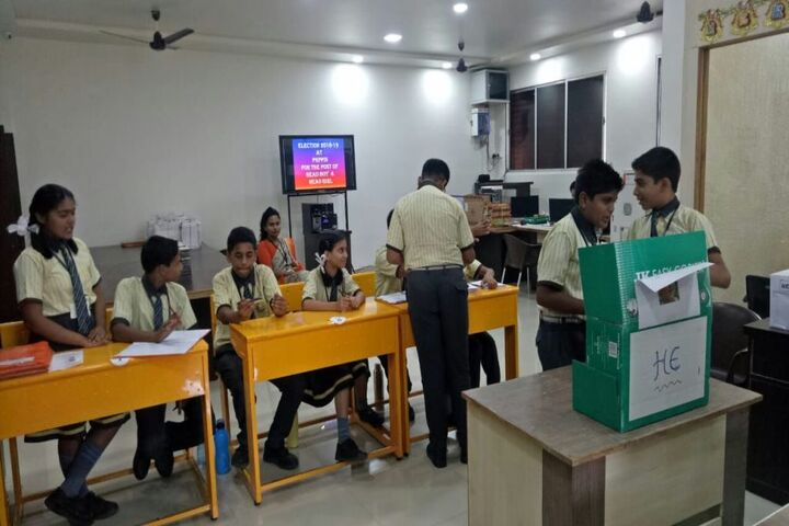 P R Pote Patil International School-School Elections