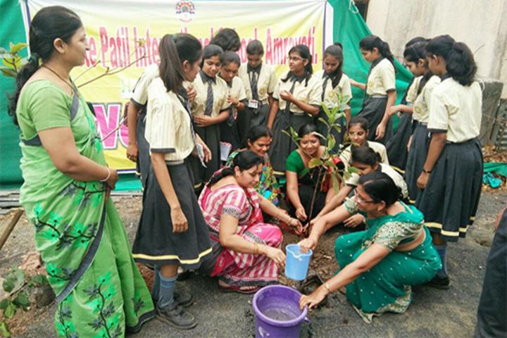 P R Pote Patil International School-World Environment Day