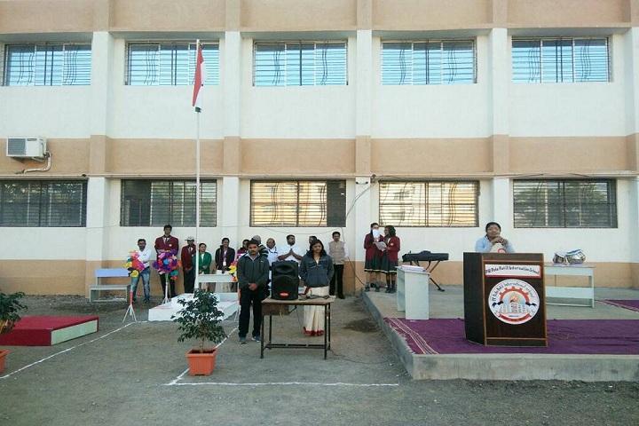 P R Pote Patil International School-Flag-Hosting