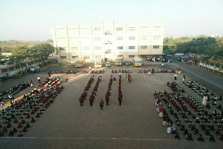 P R Pote Patil International School-Prayer-View