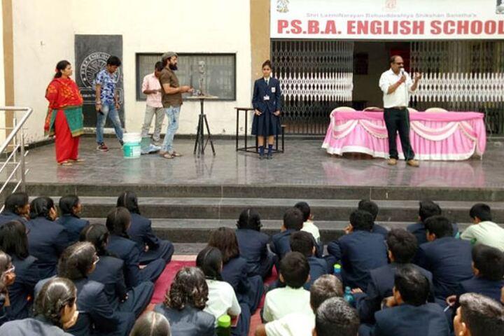 Padamshri Shankar Bapu Apegaonkar English School-Awareness