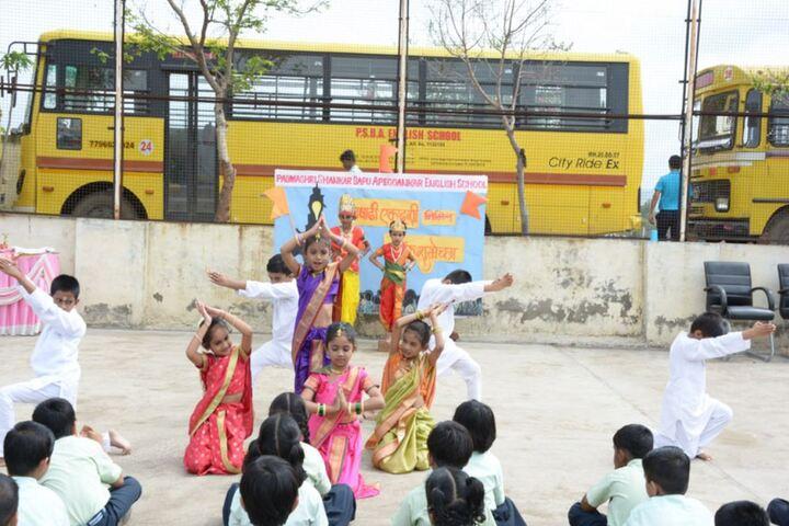 Padamshri Shankar Bapu Apegaonkar English School-Dance
