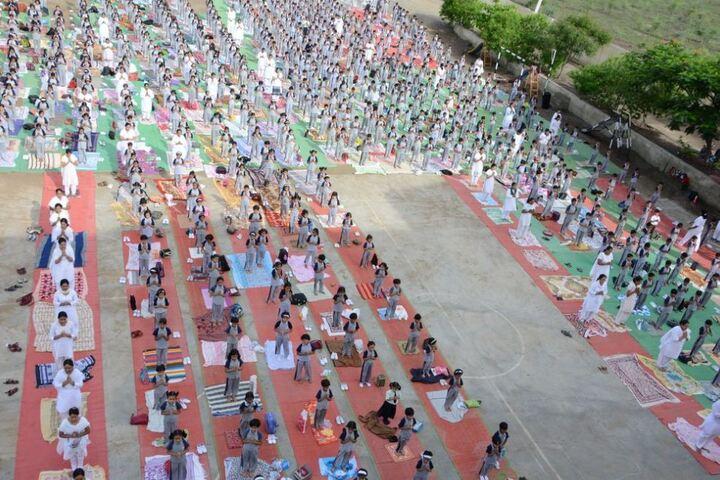 Padamshri Shankar Bapu Apegaonkar English School-Yoga Day