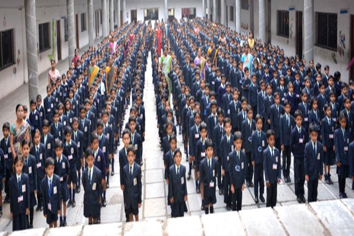 Padamshri Shankar Bapu Apegaonkar English School-Assembly