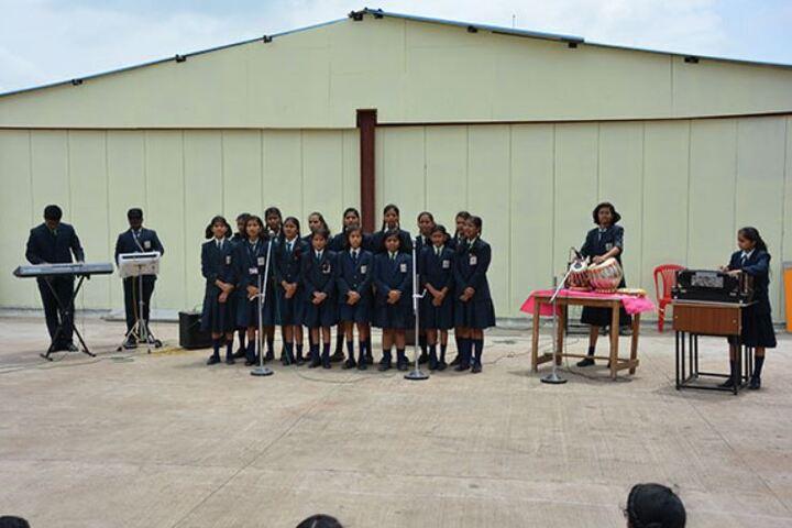 Padamshri Shankar Bapu Apegaonkar English School-Music
