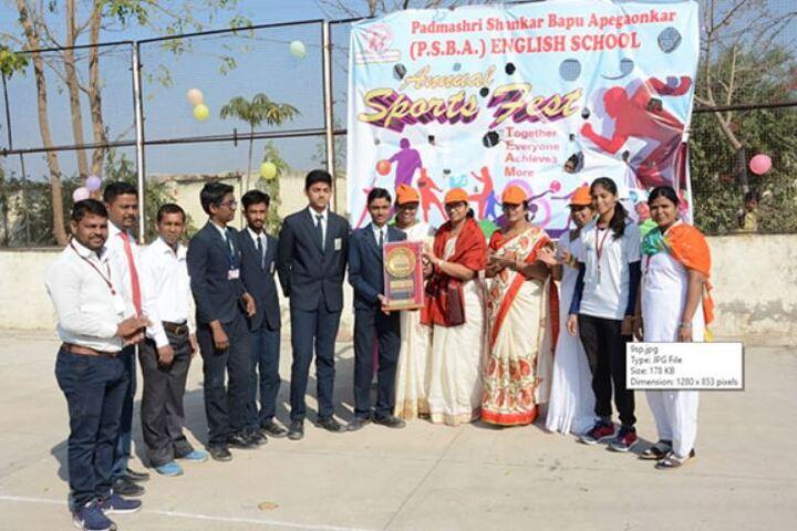 Padamshri Shankar Bapu Apegaonkar English School-Sports Meet