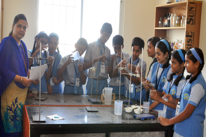 Pandurang International English School-Chemistry Lab