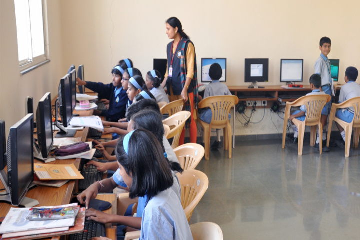 Pandurang International English School-IT Lab