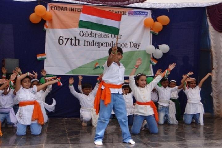 Podar International School-Independence-Day