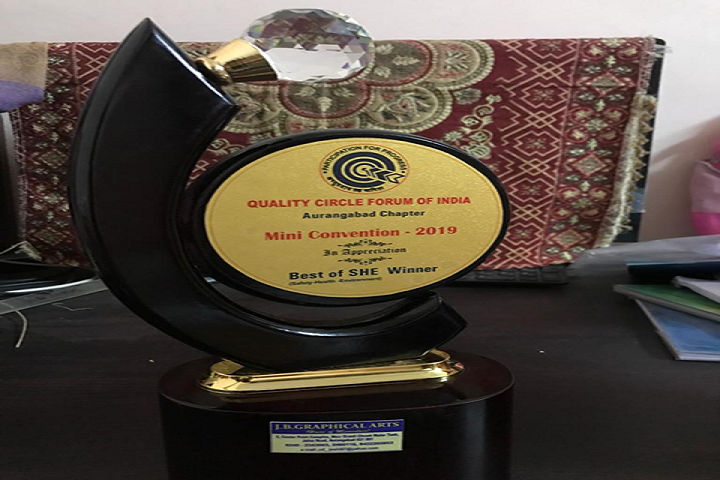 Podar International School-Award to the School