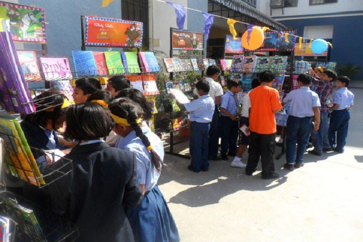 Podar International School-Book Stall at School