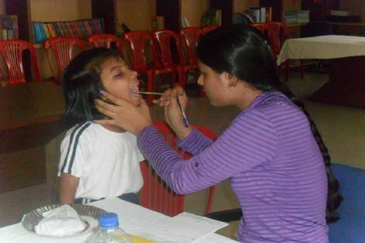 Podar International School-Medical Camp