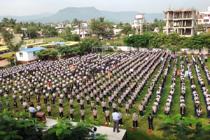 Podar International School-Morning Assembly