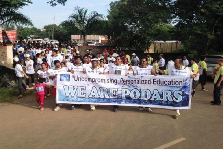 Podar International School-Rally